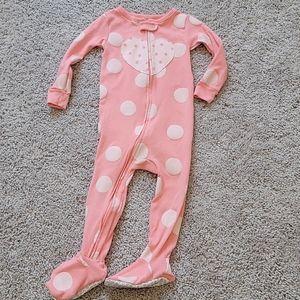 💖 LN Carter's Heart and Polka Dot Pajamas